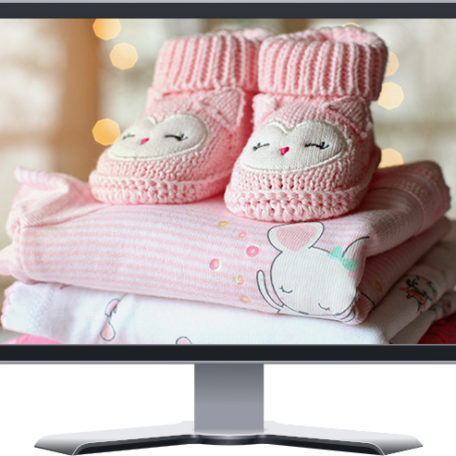 baby gifts boutique shopify ecommerce website design