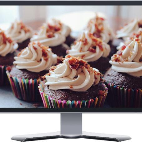 gourmet bakery catering boutique website design wordpress