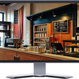 coffee shop restaurant boutique website design