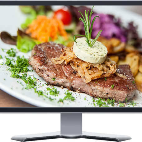 gourmet steakhouse restaurant boutique website design
