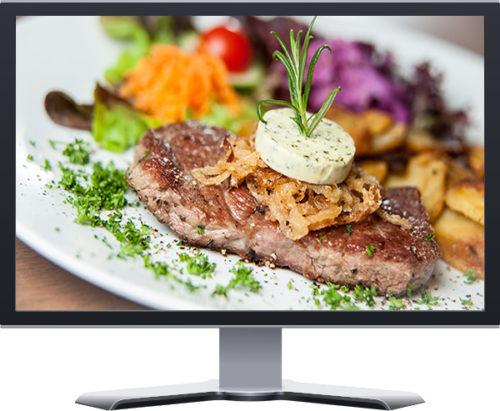 gourmet steakhouse restaurant boutique website design